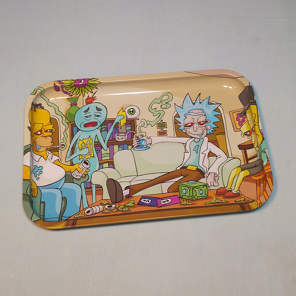 Impossible Task Tin Rolling Tray