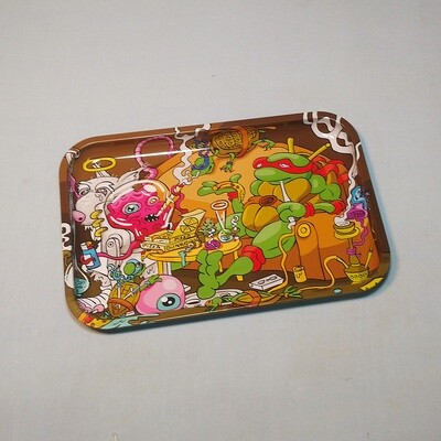Pizza Delivery Tin Rolling Tray
