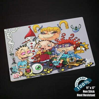 Kids will be kids Silicone Dab Mat