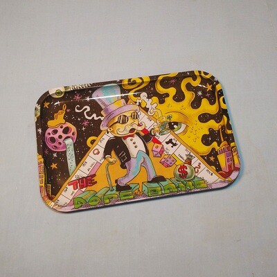 Dope Game Tin Rolling Tray