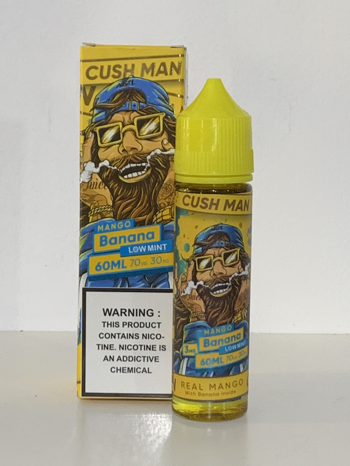 Cush Man Mango Banana Low Mint