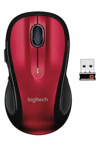 Souris LOGITECH M510 Rouge Laser Sans Fil