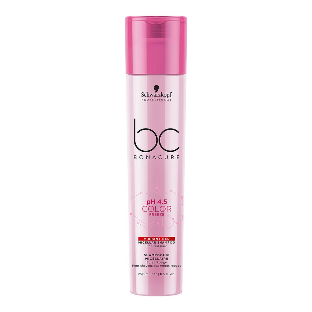 BC pH 4.5 Color Freeze Vibrant Red Micellar Shampoo