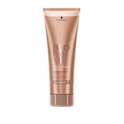 BlondMe Detoxifying System Purifying Bonding Shampoo