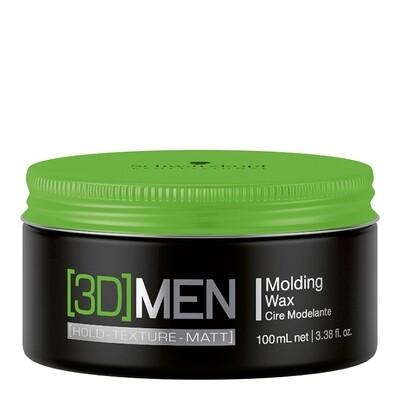 3D Men Medium Hold Wax