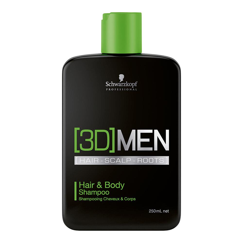 3D Men Hair&Body Shampoo