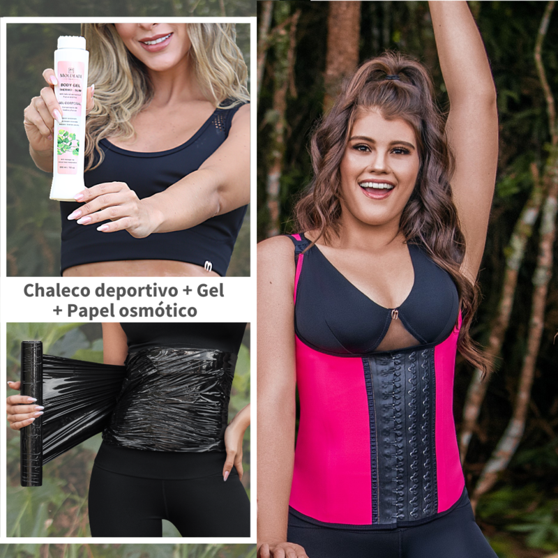 KIT MUJER ACTIVA- CHALECO