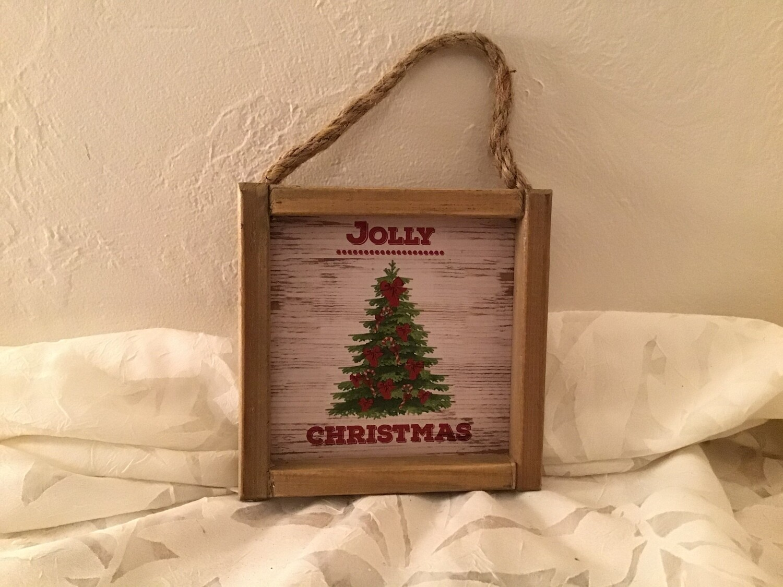 Wood Ornament Signs