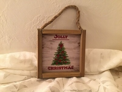 Wood Ornament Signs