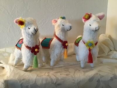 Fleece Llamas