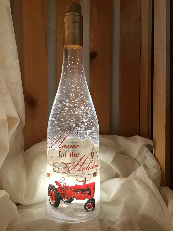 Lighted Bottles