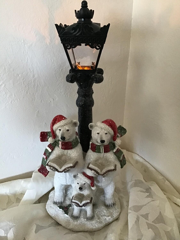 Polar Bears and Lamp