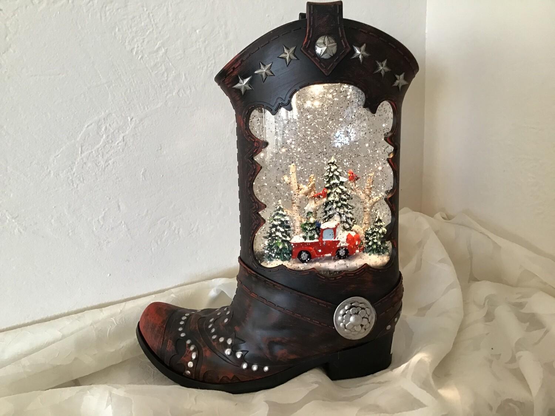 Boot Snowglobe