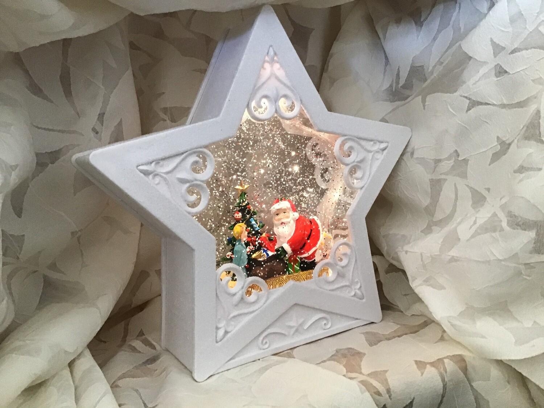 White Star Snowglobe
