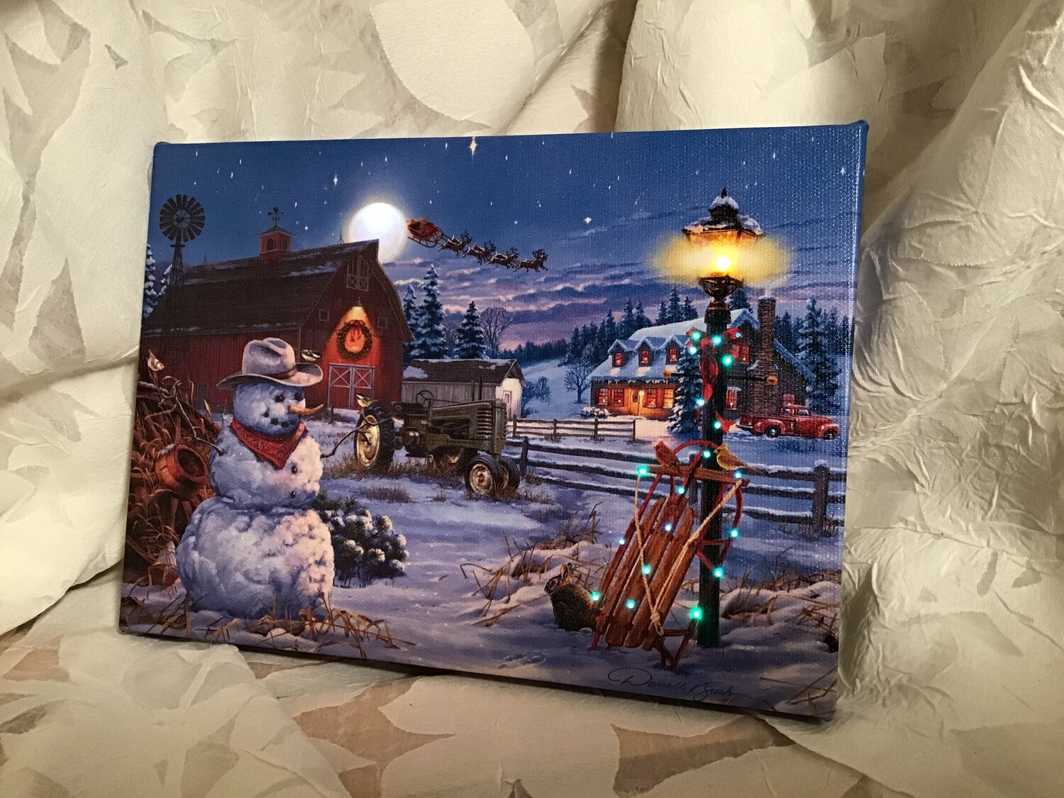 Lighted Canvases