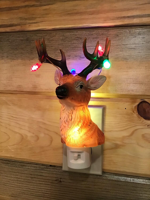 Reindeer Flashing Light
