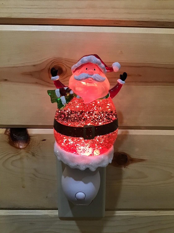 Santa Globe Light