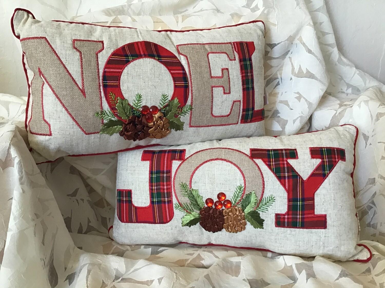 Noel and Joy Pillows