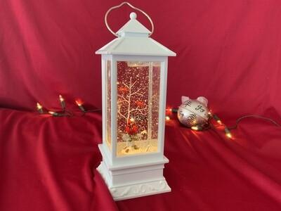 Cardinal Lantern Globe