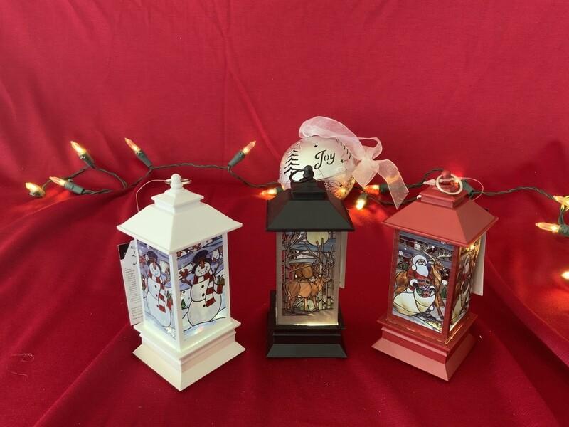 Mini Lighted Lantern Globes