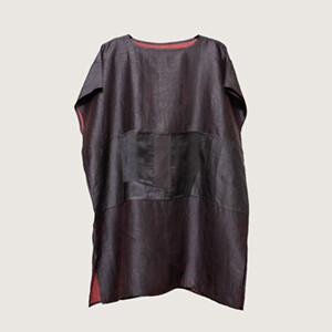 Patchwork Tunic- Red