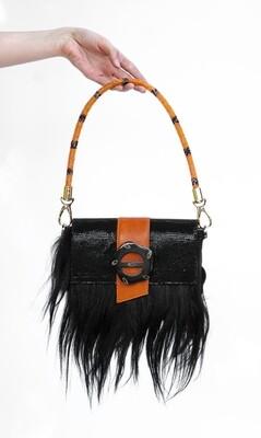 Lambskin Leather Shoulder Bag