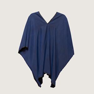Blue V-neck Tunic