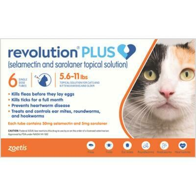 Revolution Plus 5.6-11lb Cats ( $15 Rebate)