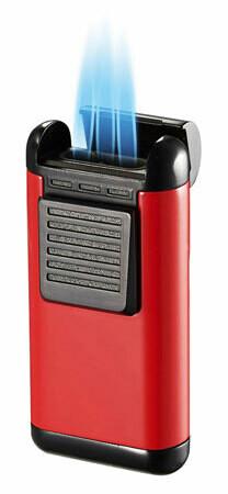 Visol Antero Red Triple Flame Lighter