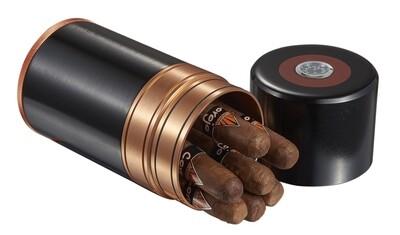 Visol Big  black Joe 7-cigar Travel/Desk Humidor