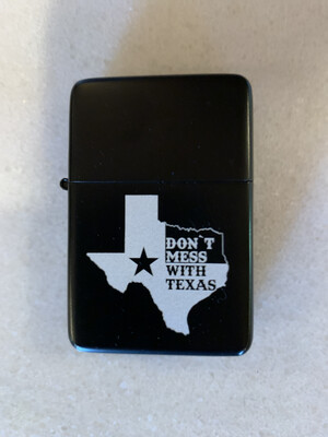 Don't Mess With Texas Dual Torch Flame Lighter