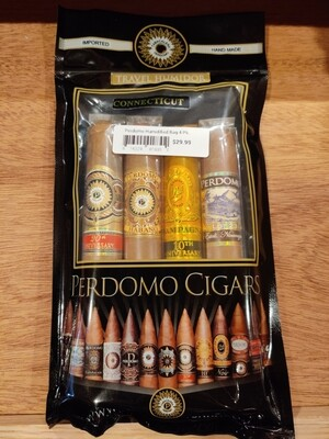 Perdomo Humidified Bag 4 Pk Con Assortment