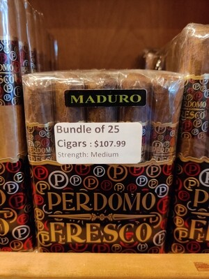 Perdomo Fresco Robusto Maduro 25 Cigar Bundle