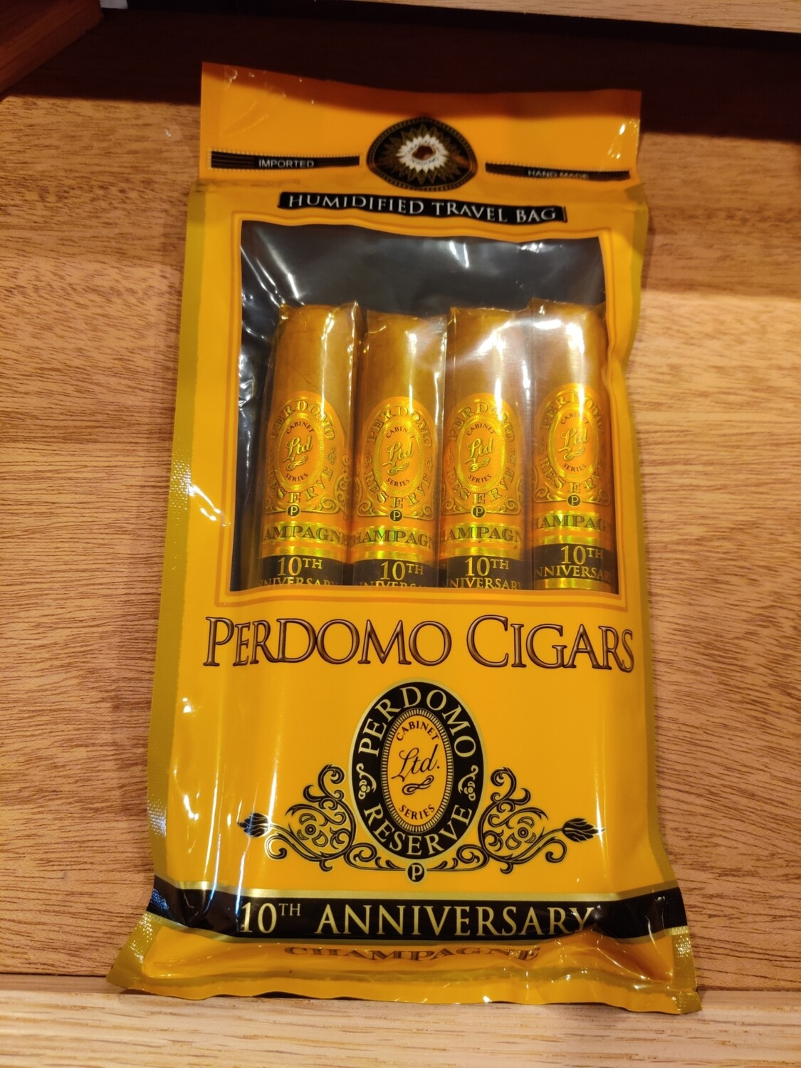 Perdomo Humidified Bag 4 Pk Champagne Epicure