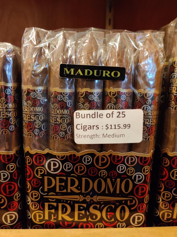 Perdomo Fresco Torpedo Maduro 25 Cigar Bundle
