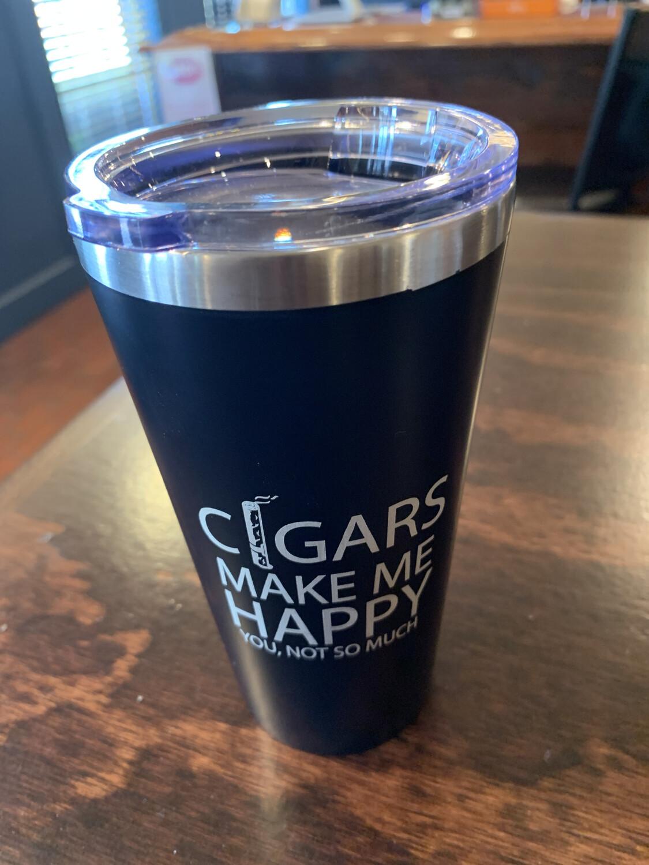 Cigars Make Me Happy Mug