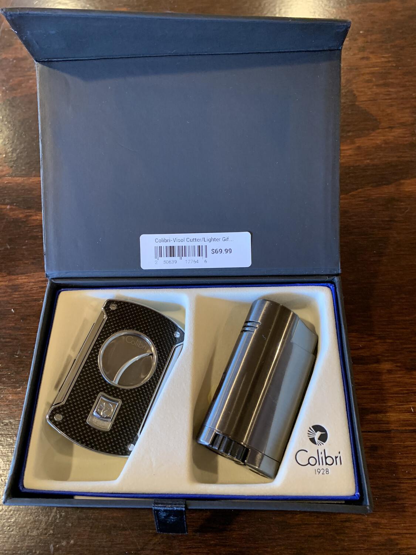 Colibri-Visol Cutter/Lighter Gift Set