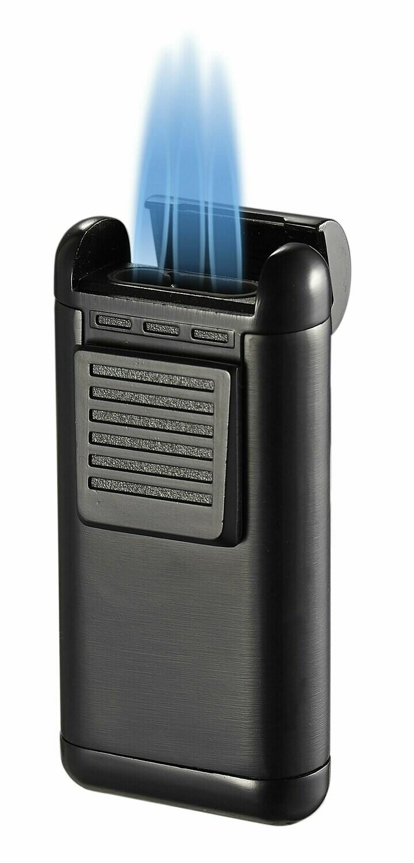 Visol Antero Black Triple Flame Lighter