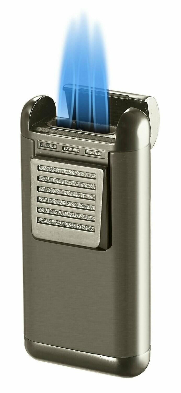 Visol Antero Gunmetal Triple Flame Lighter