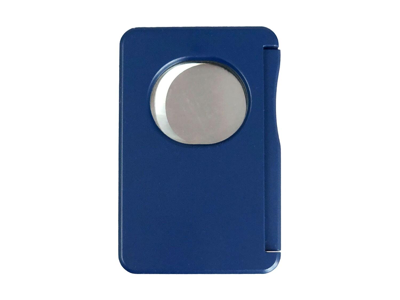 Visol Sidecut Double Guillotine Cigar Cutter - Blue