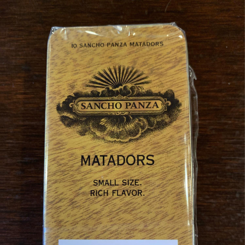Sancho Panza Matadors 10ct Tin
