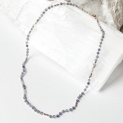 Iolite & Labradorite Necklace