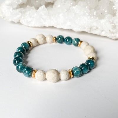 Riverstone & Apatite Bracelet