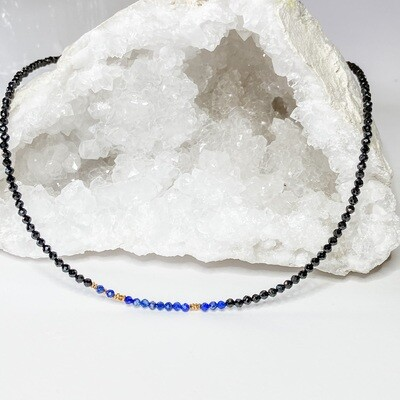 """""""I Am The Storm"""" Morse Code Necklace"""