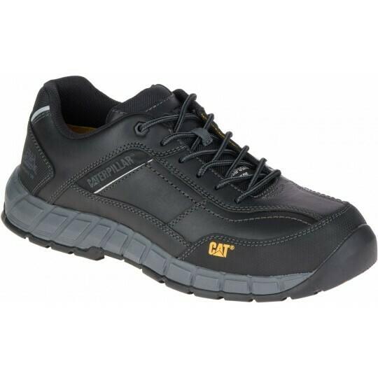 CAT - Streamline Leather S1P Safety Shoe