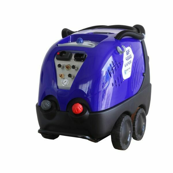 Industrial steam pressure cleaner for cars with suction - BF4000 vacuum