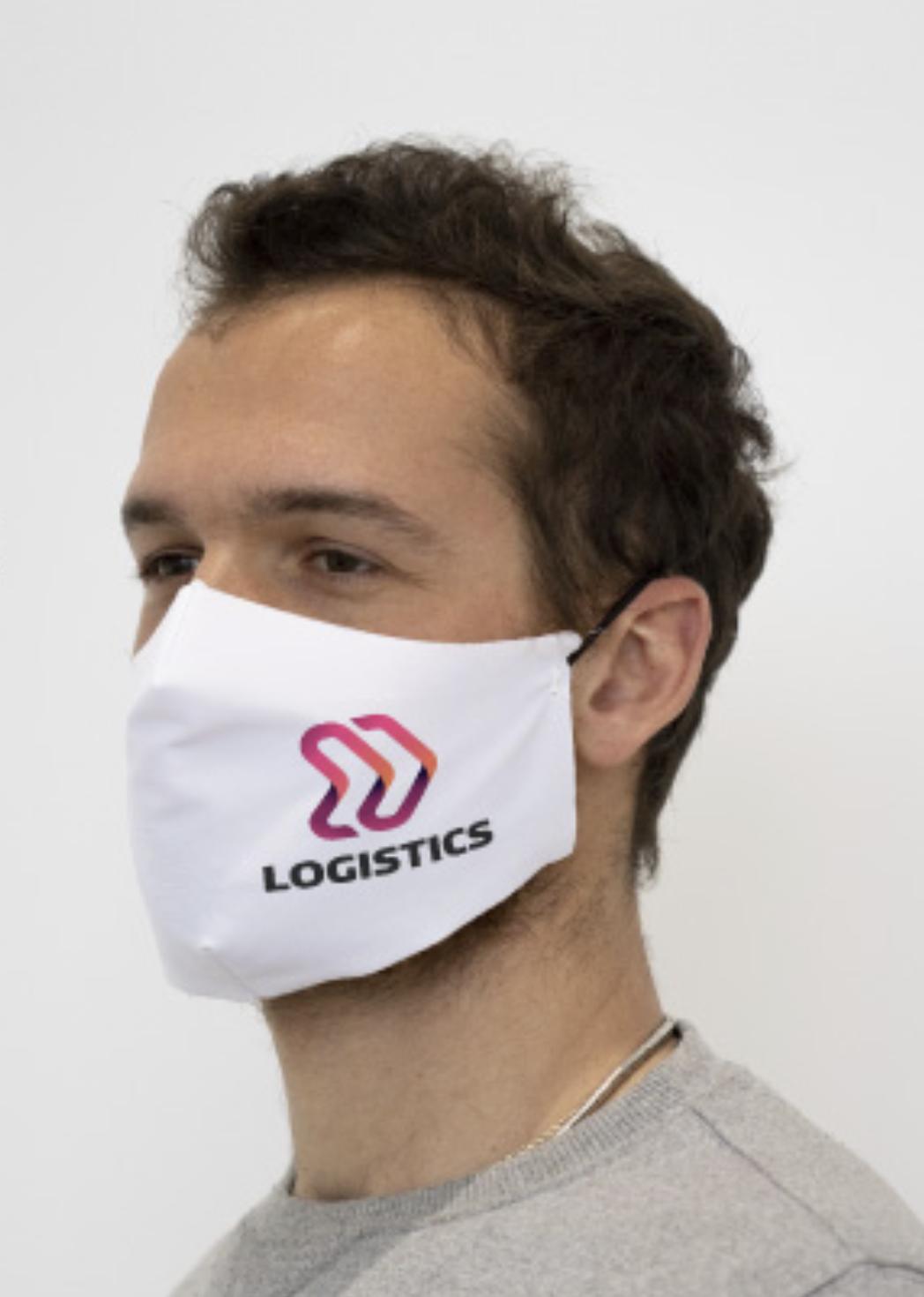 Schutzmasken aus Stoff BEDRUCKT (min 50 stk.)