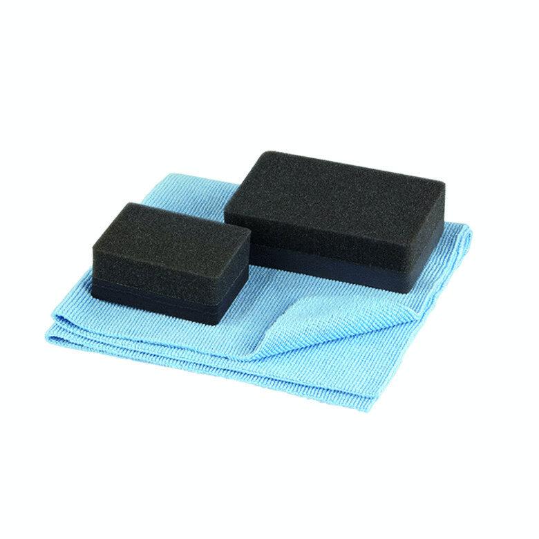 Application set for matt lacquers