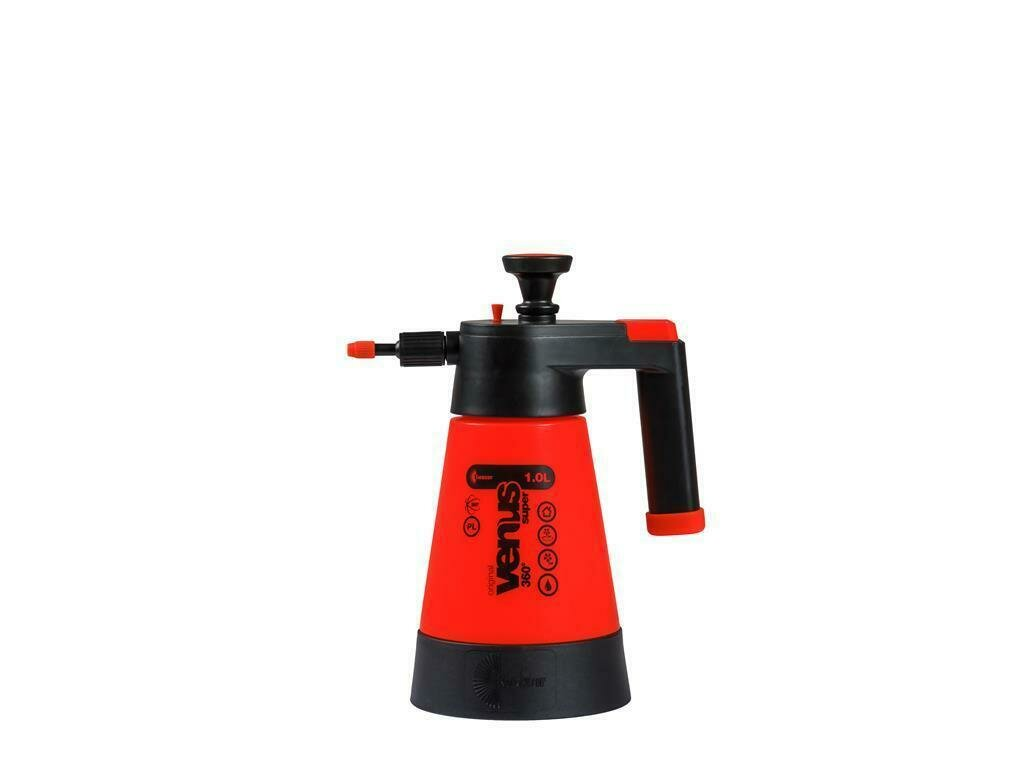 Venus Super pump sprayer 360 degrees 1 litre orange