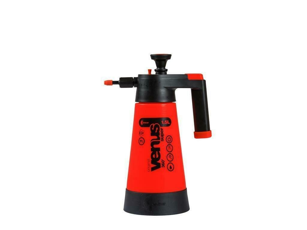 Venus Super Pump Sprayer 360° 1,5 litre orange